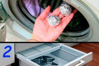 Как и зачем стирать при помощи шариков из фольги. Качество стирки повышается в разы!