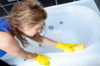"""Как отчистить даже самую """"убитую"""" ванну. Супер очиститель для ванн!"""
