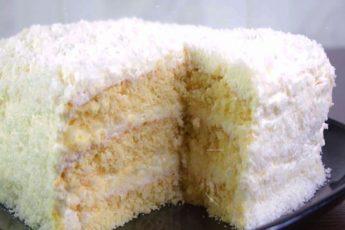 Рецепт обалденного торта «Рафаэлло» быстрого приготовления 1